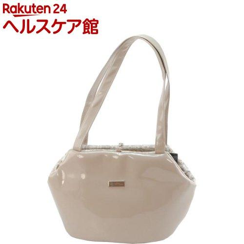 アンテプリマ エナメルレザー トート バッグ M ベージュ(1コ入)【送料無料】