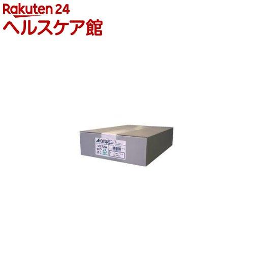 エーワン パソコンプリンタ&ワープロラベルシール(プリンタ兼用) 10面 28724(500シート)【送料無料】