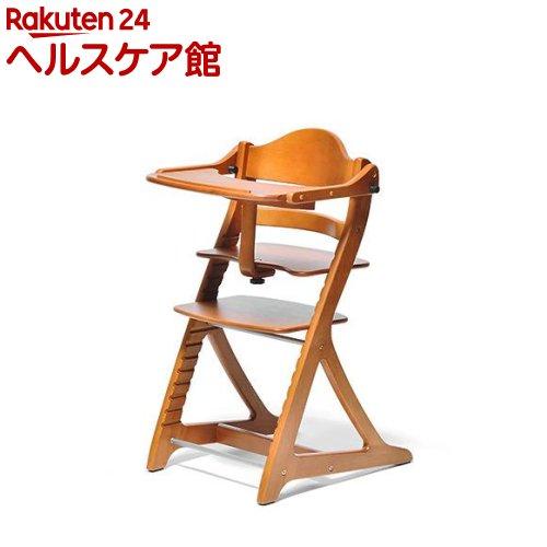 すくすくチェア スリムプラス テーブル付 ライトブラウン(1脚)【すくすくチェア プラス】【送料無料】