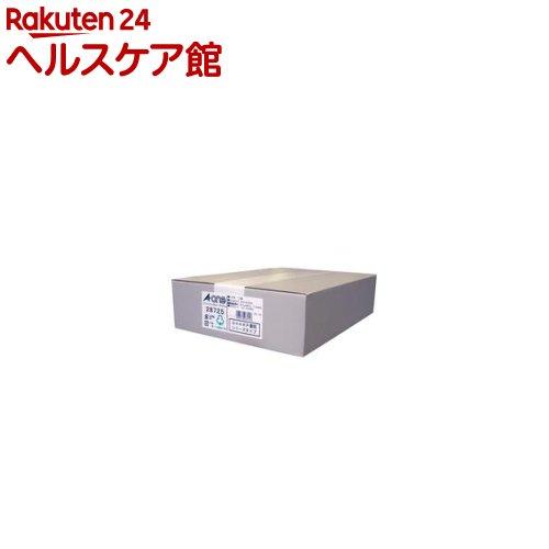 エーワン パソコンプリンタ&ワープロラベルシール(プリンタ兼用) 12面 28725(500シート)【送料無料】