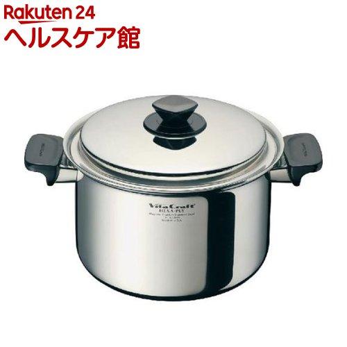 ビタクラフト ヘキサプライ 両手ナベ 4.0L 深型 6125(1コ入)【ビタクラフト】