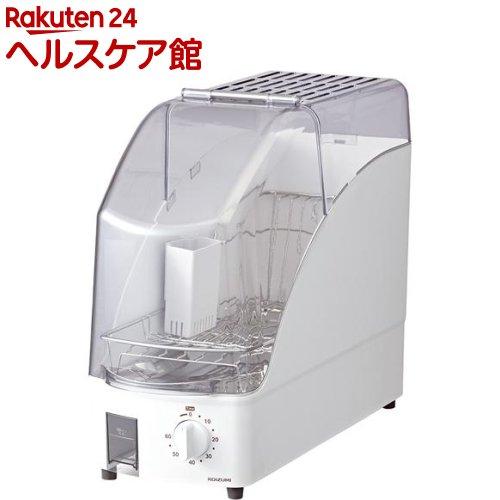 本日の目玉 コイズミ コンパクトサイズ食器乾燥器 ホワイト KDE-0500 1台 数量限定