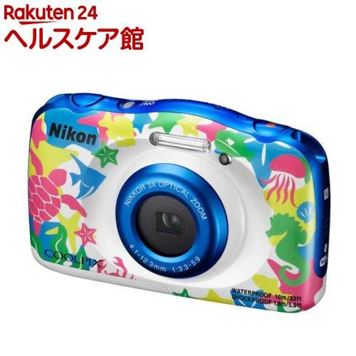 ニコン デジタルカメラ クールピクス W100 マリン(1台)【クールピクス(COOLPIX)】【送料無料】