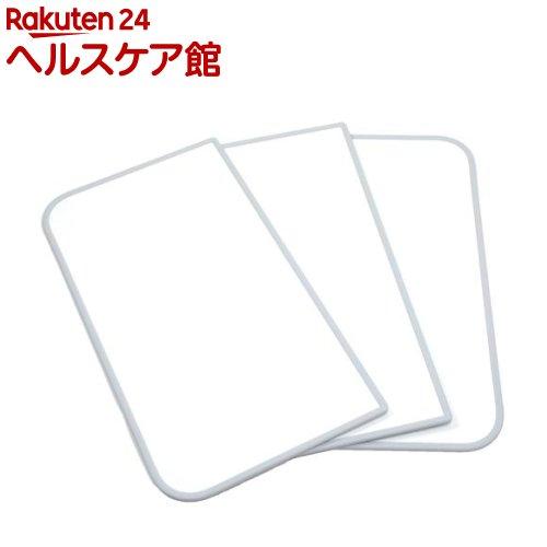 75*160cm用 防菌・防カビ風呂ふた 3枚割り 組み合せ センセーション 両面ホワイト(3枚入) L16