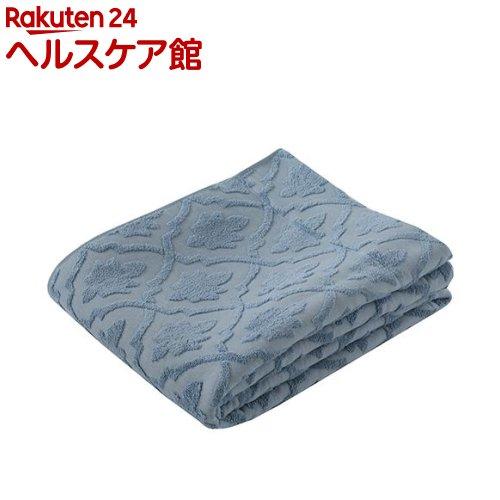 東京西川 エアブリーズケット ガーゼ&パイル ブルー シングル RR08100004B(1枚入)【東京西川】【送料無料】