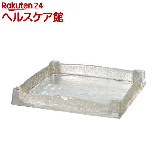 プレート グラッセ スクエアトレー 240 金箔付き(1コ入)【送料無料】