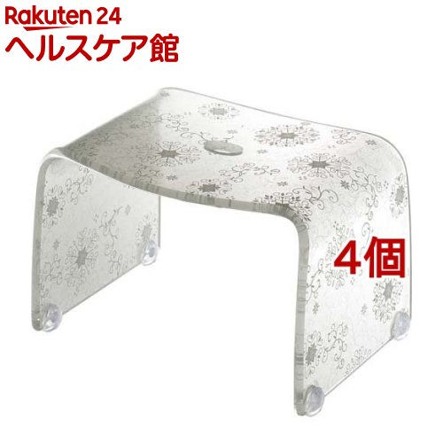 フィルロ シュシュ バスチェアー S オウンホワイト(4個セット)【フィルロ】
