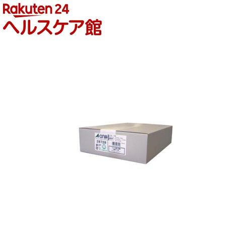エーワン パソコンプリンタ&ワープロラベルシール(プリンタ兼用) 18面 28728(500シート)【送料無料】