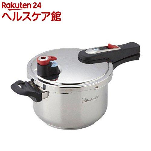 ワンダーシェフ エリユム 片手圧力鍋 4L(1コ入)【ワンダーシェフ】