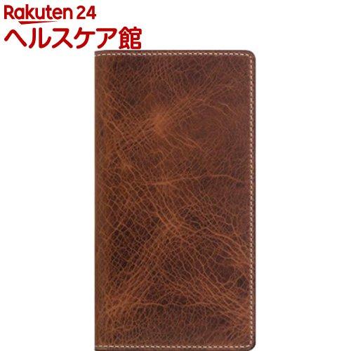SLG iPhone XS MAX バダラッシーワックスケース ブラウン SD13729i65(1個)【SLG Design(エスエルジーデザイン)】