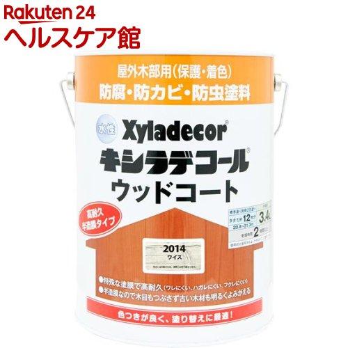 水性キシラデコール ウッドコート ワイス(3.4L)
