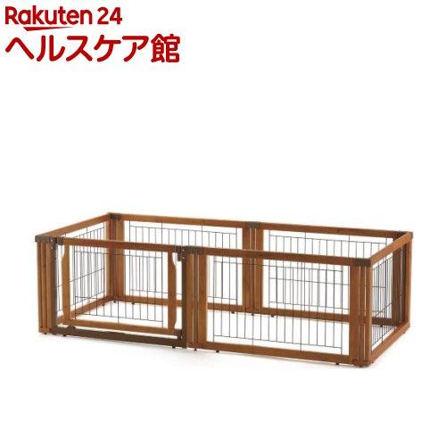 リッチェル ペット用 木製3ウェイサークル 6面50H ブラウン(1台)【送料無料】