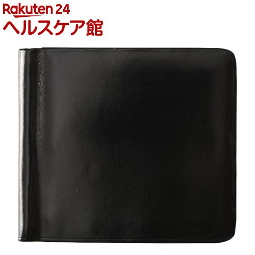 イル・ブセット マネークリップ財布 ブラック(1コ入)【Il Bussetto(イル・ブセット)】