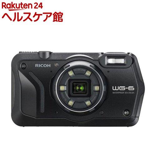 リコー タフネスカメラ WG-6 ブラック(1台)