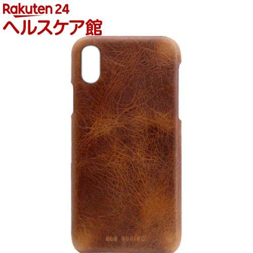 SLG iPhone XS MAX バダラッシーワックスバーケース ブラウン SD13732i65(1個)【SLG Design(エスエルジーデザイン)】