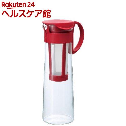ハリオ HARIO 水出し珈琲ポット 商品追加値下げ在庫復活 新作続 レッド 1コ入 MCPN-14R