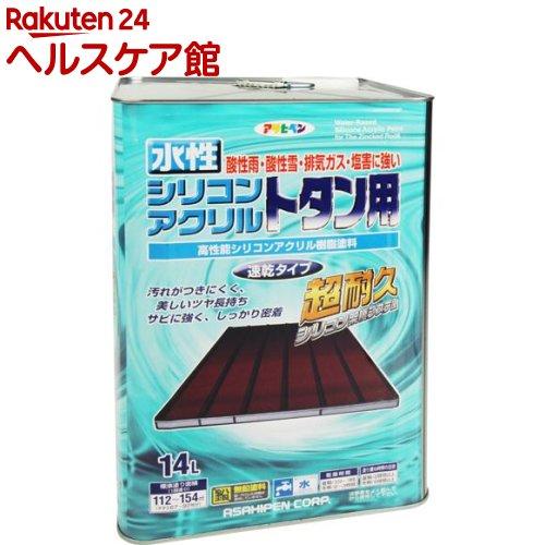 アサヒペン 水性シリコンアクリルトタン用 スカイブルー(14L)【アサヒペン】