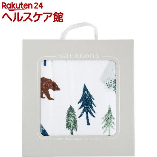 サラノニ バンブーモスリン4重キルト ヨセミテ(1枚入)【サラノニ(Saranoni)】