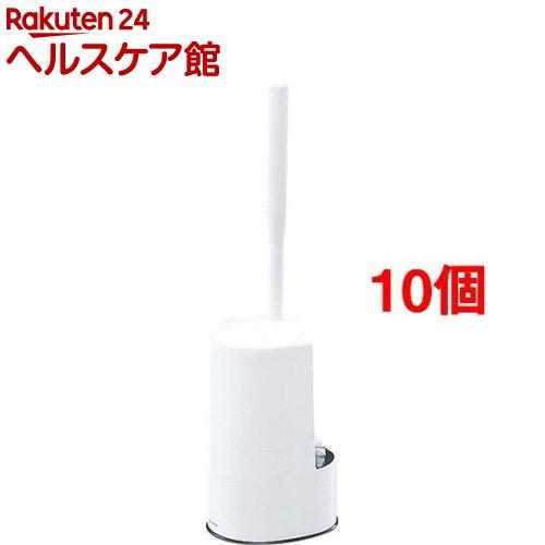 マーナ トイレブラシ ホワイト W071W(10個セット)【マーナ】
