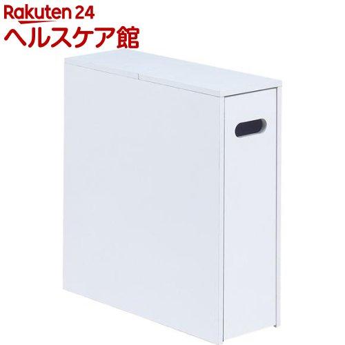 NEW薄型スライド トイレラック ホワイト(1コ入)【送料無料】
