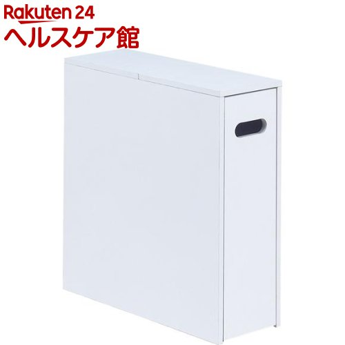 NEW薄型スライド トイレラック ホワイト(1コ入)