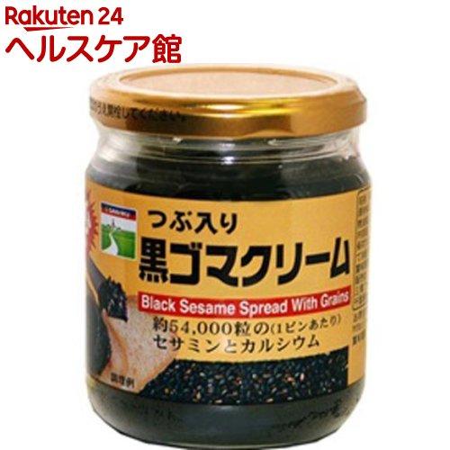 爆買い新作 三育フーズ 三育 セール 登場から人気沸騰 つぶ入り黒ゴマクリーム 190g