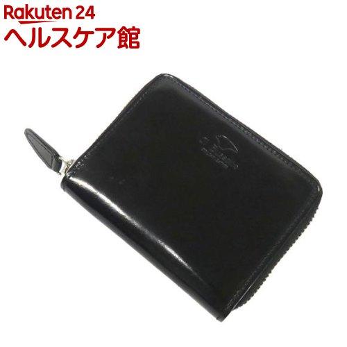 イル・ブセット ラウンドジップミニウォレット(財布) ブラック(1コ入)【Il Bussetto(イル・ブセット)】