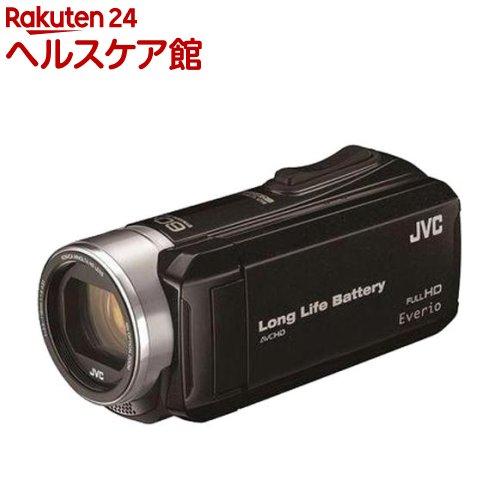 JVC Everio ハイビジョンメモリームービー GZ-F117B ブラック(1台)【JVC】【送料無料】