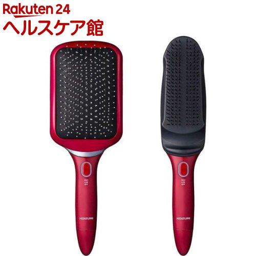 コイズミ スカルプ&リセットブラシ レッド KBE-3500/R(1セット)【コイズミ】