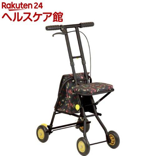 幸和 テイコブ プチカ SICP01 フラワーブラック(1台)【TacaoF(テイコブ)】