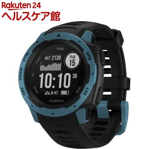 GARMIN GPSアウトドアウォッチ Instinct Tide Black/Blue 01002064B2 日本正規品(1個)【GARMIN(ガーミン)】