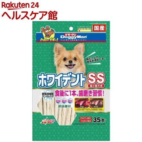 ドギーマン Doggy Man ホワイデントスティック SS 春の新作 35本入 直営店 1909_pf03