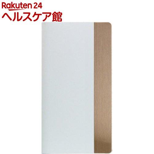エスエルジーデザイン iPhone X カーフスキンメタルダイアリーe ホワイト SD10545i8(1コ入)【SLG Design(エスエルジーデザイン)】【送料無料】