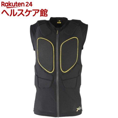 鎧武者 ボディプロテクター ベスト ユニセックス YM-1746 BK M(1枚)【鎧武者】