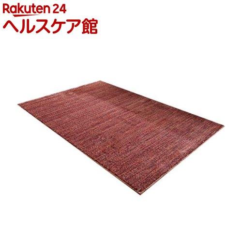 イケヒコ イリゼ ラグマット 190*240cm ワイン 抗菌 防ダニ 防臭 日本製(1枚入)