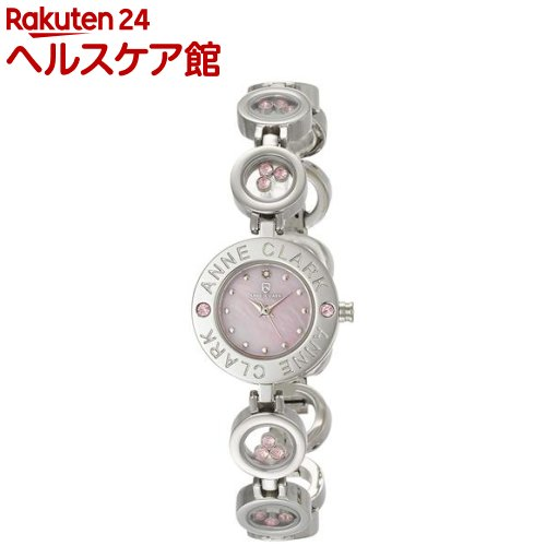 アンクラーク 天然1Pダイヤ入りレディースウォッチ AT1008-17(1本入)【】