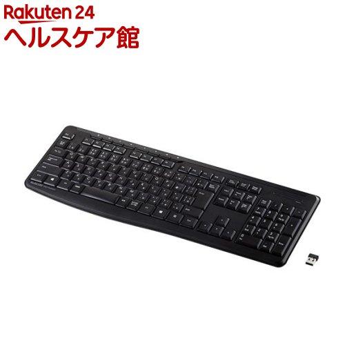 エレコム ELECOM キーボード ワイヤレス 無線 TK-FDM092STBK メンブレン 静音 フルキーボード 1台 トレンド 低価格