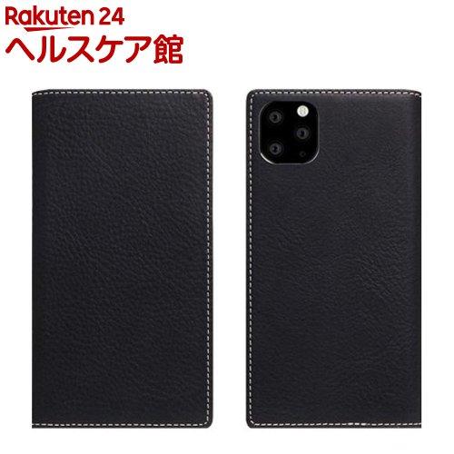 SLG Design iPhone 11 Pro Max Minerva Box Leather Case ブラック SD17950i65R(1個)【SLG Design(エスエルジーデザイン)】