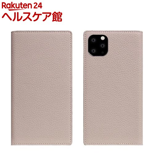 SLG Design iPhone 11 Pro Max Full Grain Leather Case ライトクリーム SD17951i65R(1個)【SLG Design(エスエルジーデザイン)】