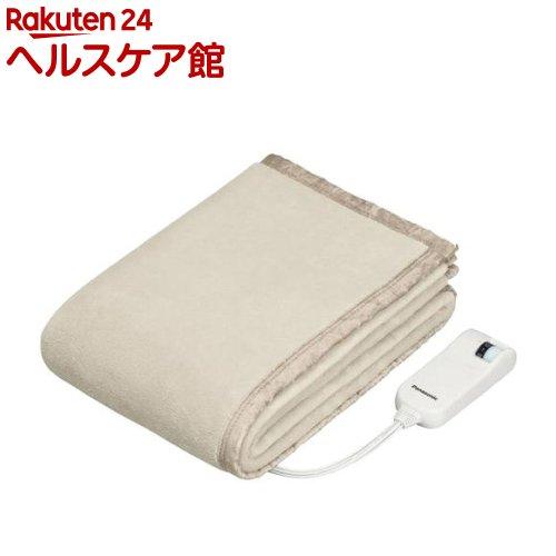 電気しき毛布 マイクロファイバー調 シングルLSサイズ ベージュ DB-UM4LS-C(1枚入)【送料無料】