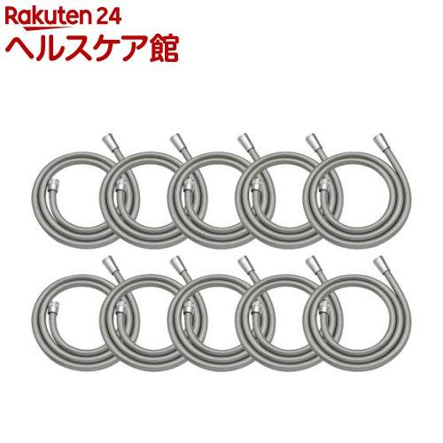 GAONA これエエやん シャワーホース 1.6m シルバー GA-FF034(10本入)【GAONA】