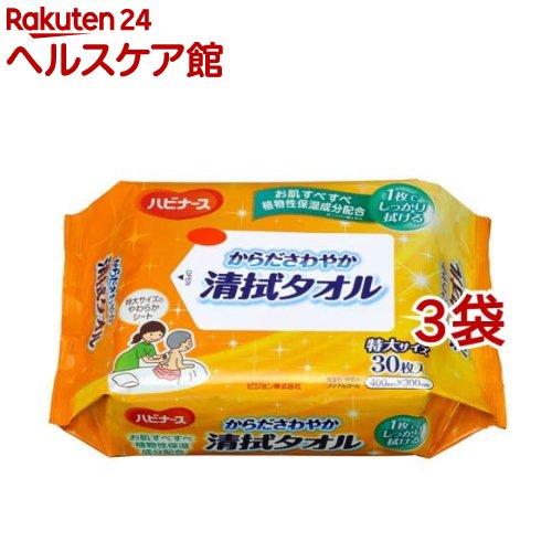 からださわやか清拭タオル 低価格 定番スタイル 30枚入 3袋セット