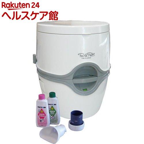 カーメイト 電動水洗式ポータブルトイレ ポルタポッティ ホワイト PPE002(1台)【ポルタポッティ】【送料無料】