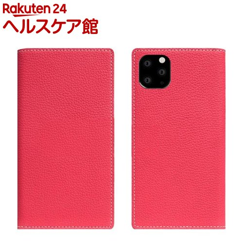 SLG Design iPhone 11 Pro Max Full Grain Leather Case ピンクローズ SD17955i65R(1個)【SLG Design(エスエルジーデザイン)】
