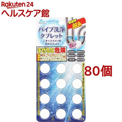 ウォッシュラボ パイプ洗浄タブレット(5.5g*12個入*80セット)【Wash Lab(ウォッシュラボ)】