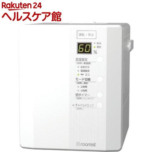 roomist スチームファン蒸発式加湿器 ピュアホワイト SHE35RD-W(1台入)【送料無料】