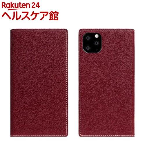 SLG iPhone 11 Pro Max Full Grain Leather Case バーガンディローズ SD17956i65R(1個)【SLG Design(エスエルジーデザイン)】
