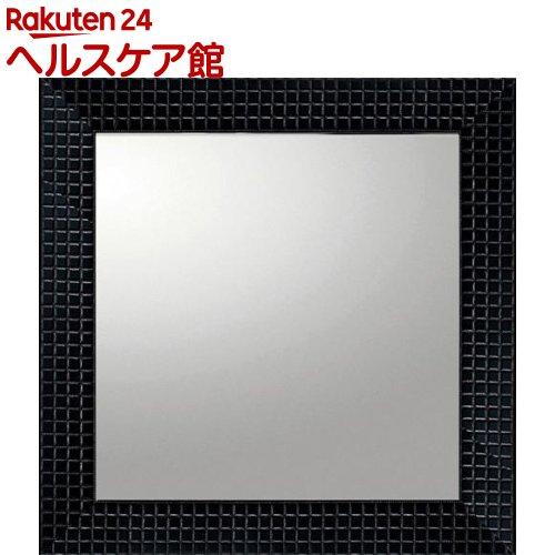 ユーパワー デコラティブ大型ミラー タイル 正方形 BM-14021 ブラック(1コ入)【ユーパワー】【送料無料】