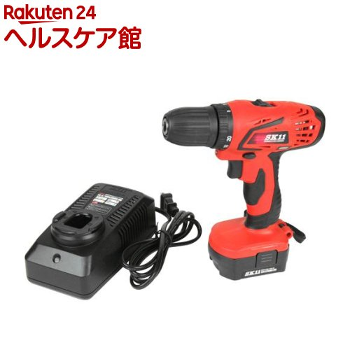 SK11 充電ドリルドライバー 18V SDD-180V-15RLS(1台)【SK11】【送料無料】