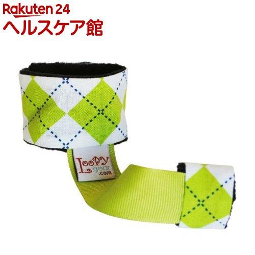 ルーピーギア プレミアム ambitious argyle lime おもちゃ ラトルホルダー LGP096(1コ入)【ルーピーギア(Loopy gear)】